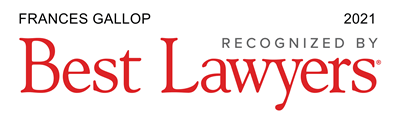 Frances Gallop - Recognized by Best Lawyers 2021